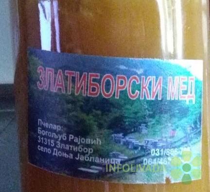 Prodaja Zlatiborskog Meda