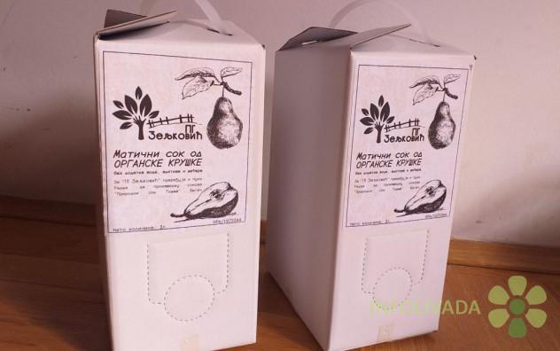 Matični sok od organske kruške