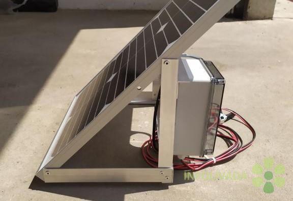 Solarno napajanje za električne čobanice/pastire na 12V