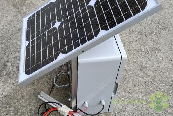 Električna solarna čobanica, pastir na solarni pogon 12V